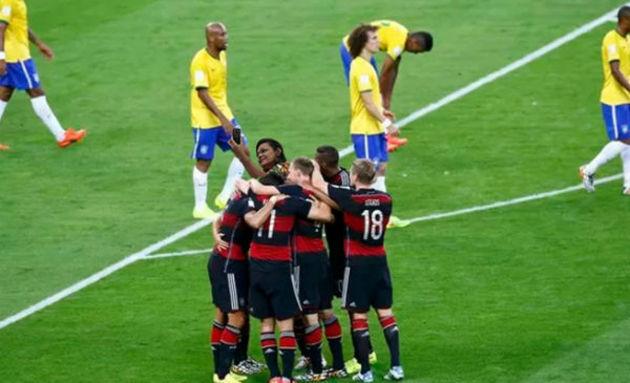 Selfie no dia que o Brasil perdeu de 7 x 1 para a Alemanha
