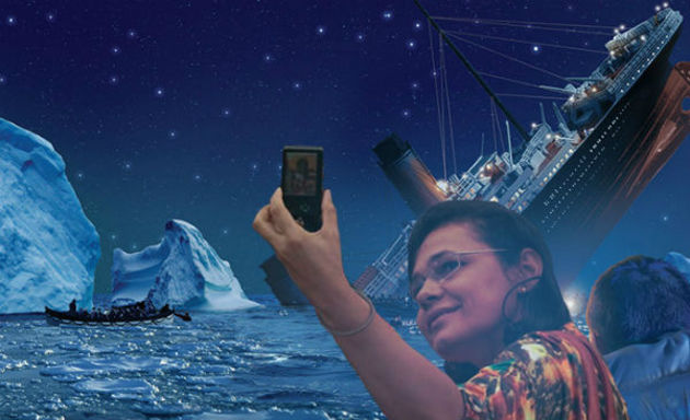 Selfie no Titanic