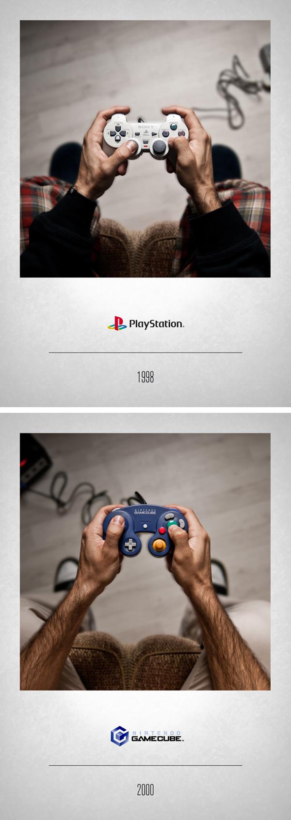 Playstation 1998 – Nintendo GameCube 2000