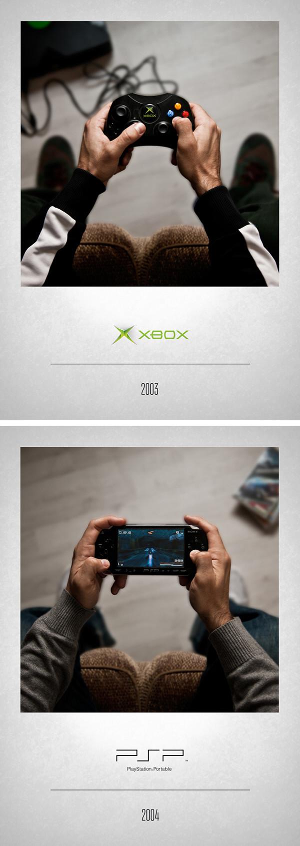 XBOX 2003 – PSP 2004