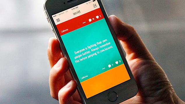 O aplicativo Secret está disponível para as plataformas Android e iOS.