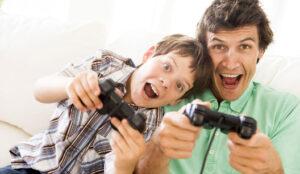Brincadeira Torneio de videogame