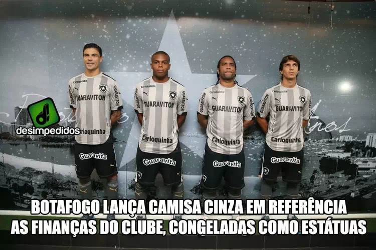 Nova camisa do Botafogo