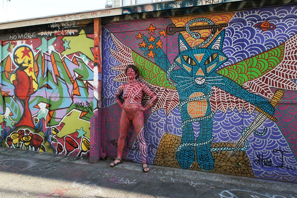Clarion Alley em San Francisco