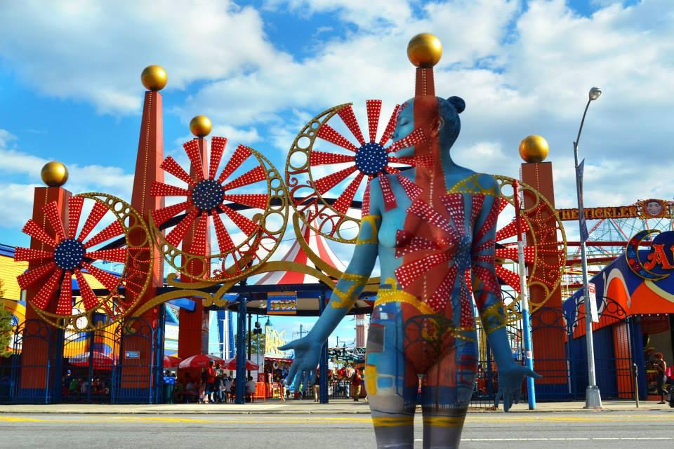 Parque de diversão Coney Island