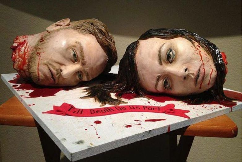 Que bolo mais louco!!!