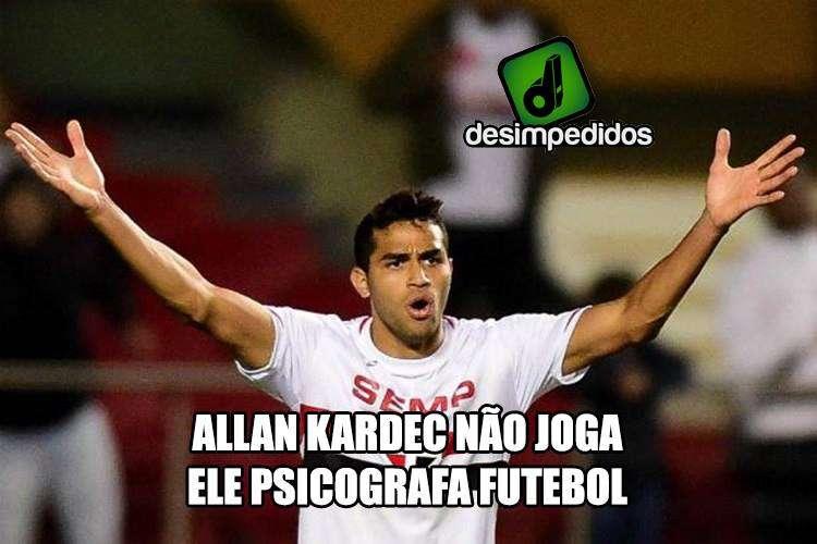 Allan Kardec não joga!