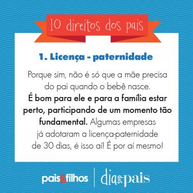 1 - Licença Paternidade