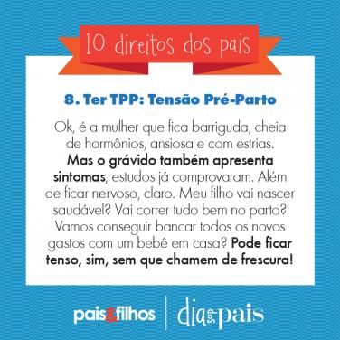 8 – Ter TPP: Tensão Pré-Parto