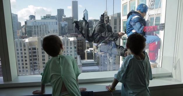 Super-herói: Batman e Capitão América