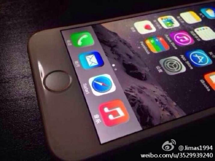 Novo iPhone 6: Botão Home