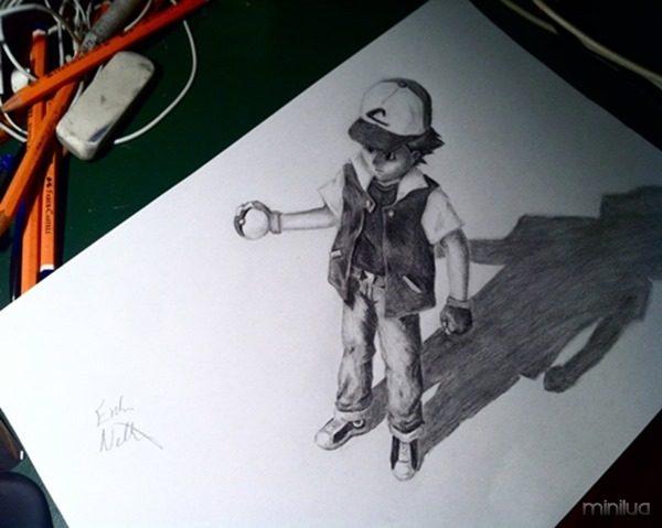 Incriveis Desenhos 3d Marcus Pessoa