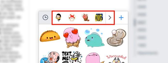 Como usar stickers e figurinhas em comentários no Facebook - Desktop 2