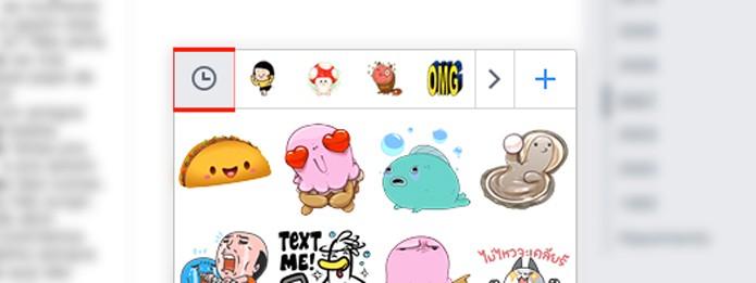 Como usar stickers e figurinhas em comentários no Facebook  - Desktop 3
