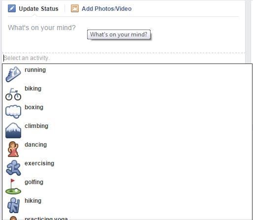Facebook testa opção esportiva para atualizações de Status (2)