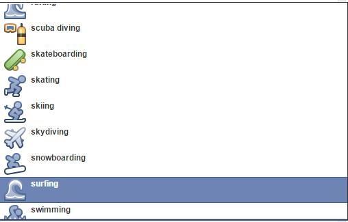 Facebook testa opção esportiva para atualizações de Status (3)