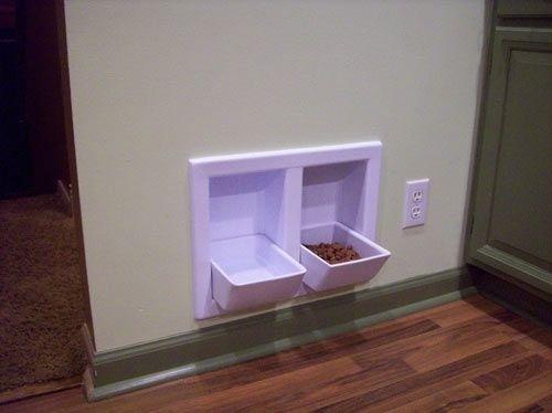 Pratos que fecham quando não estão em uso. Ideal pra quem vive em apartamento