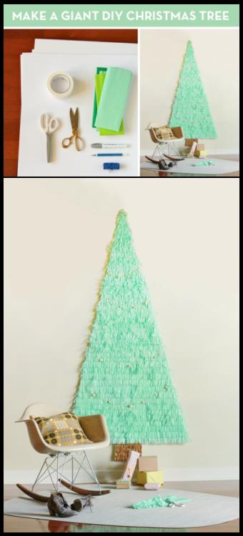 Árvores de Natal para espaços pequenos