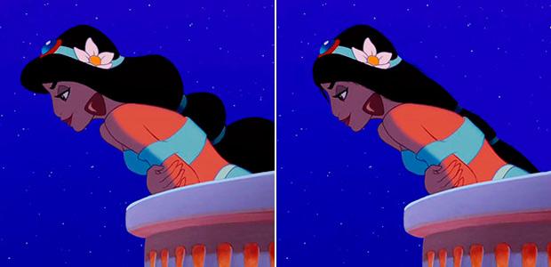 Como seriam se Princesas da Disney tivessem cabelos reais por Loryn Brantz