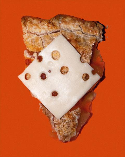 Imaginem que em Wisconsin, USA, é proibido servir tortas de maçã sem queijo em locais públicos