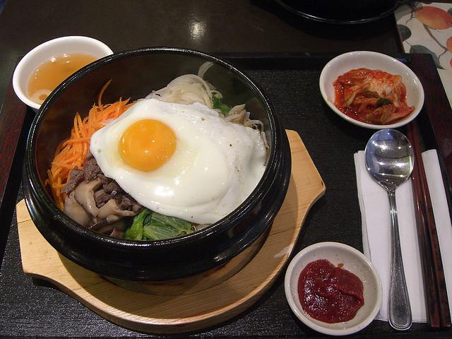 Café da manhã na Coréia