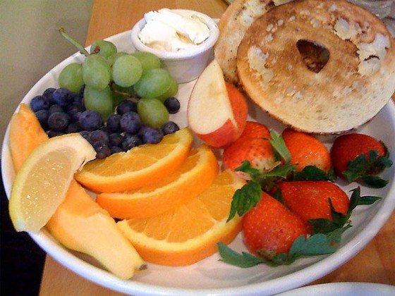 Café da manhã havaiano