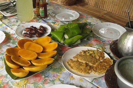 Café da manhã nas Filipinas