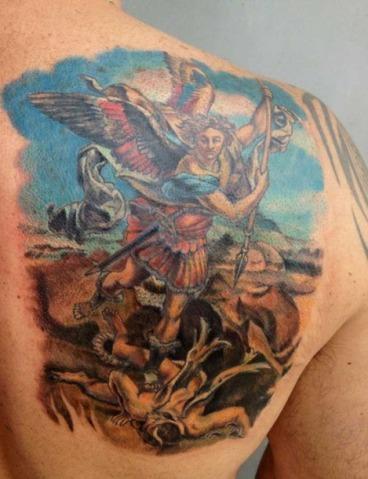 Tatuagens de pinturas famosas