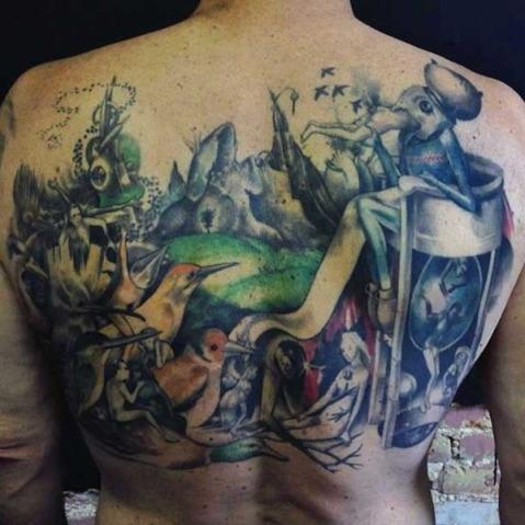 Tatuagens de pinturas famosas7