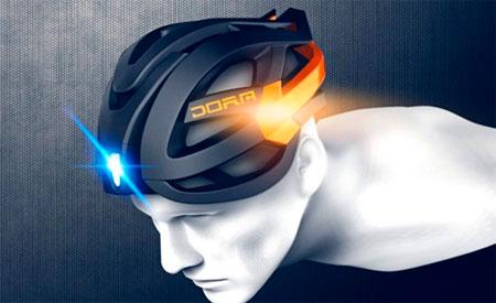 Acessórios criativos para ciclistas