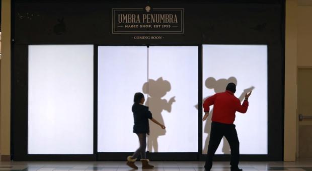 Disney muda sombras das pessoas pelas de personagens