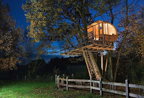 Projetos Encantadores de Casas em Árvores