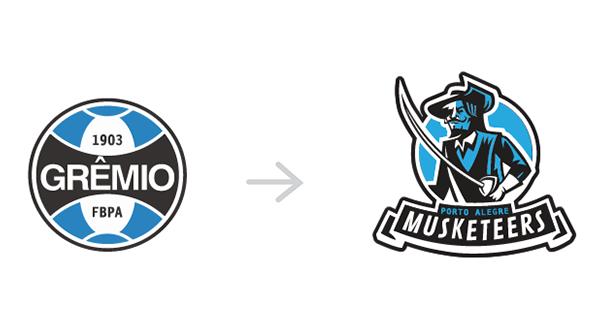 Redesign dos escudos dos clubes brasileiros (2)
