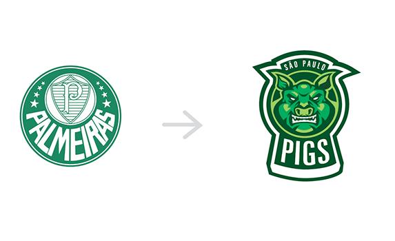 Redesign dos escudos dos clubes brasileiros (4)