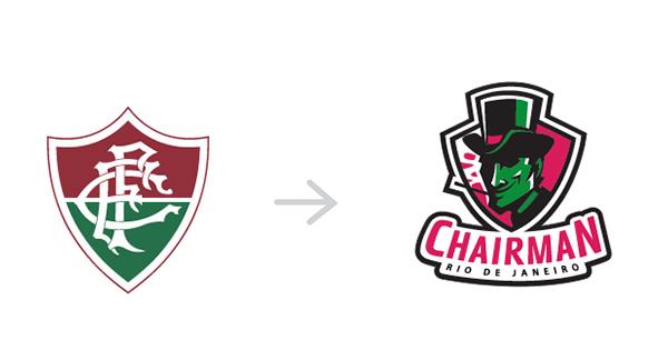 Redesign dos escudos dos clubes brasileiros (5)
