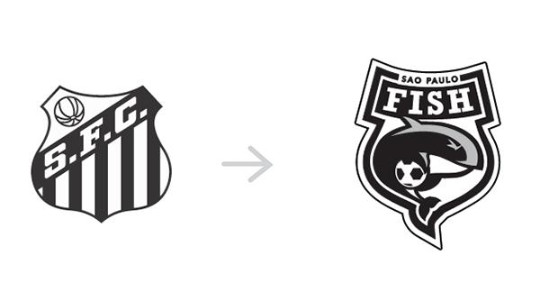 Redesign dos escudos dos clubes brasileiros (8)