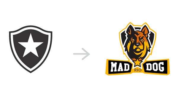 Redesign dos escudos dos clubes brasileiros (9)