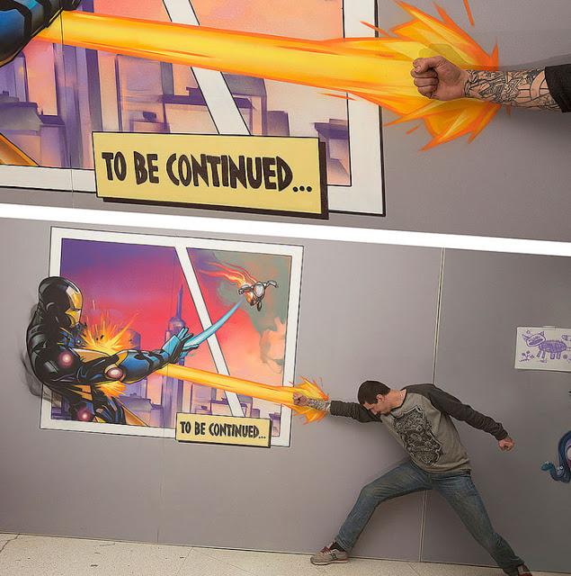 Exposição em 3D convida visitante a interagir