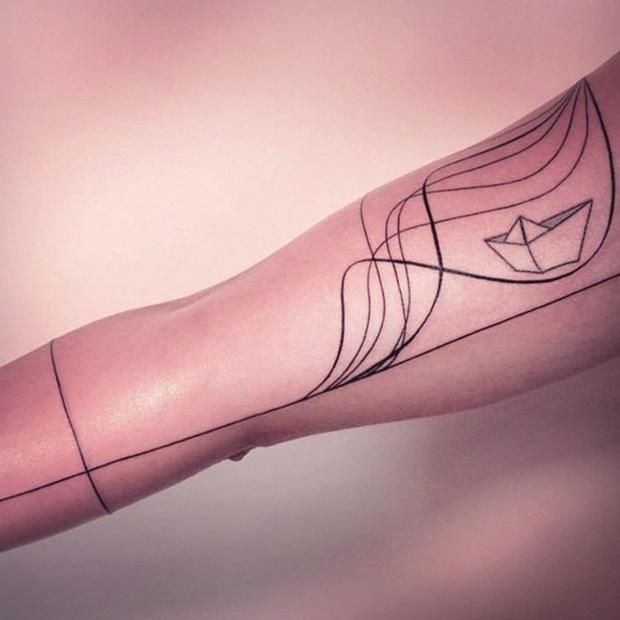 Tatuagens de Melina Wendlandt