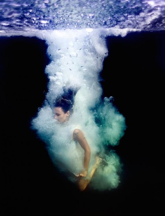 Série de fotos mágicas nas cristalinas águas das Bahamas por Elena Kalis