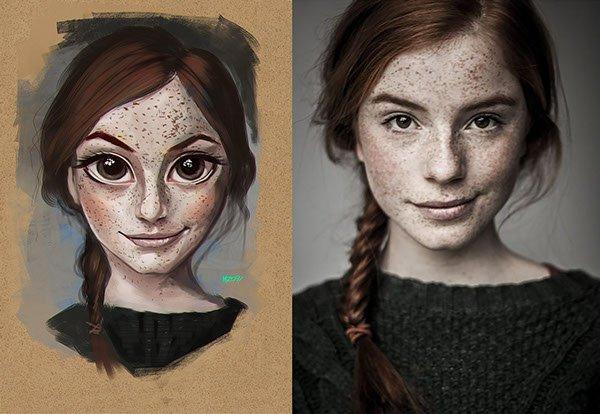 Ilustrações criativas Julio Cesar MZ09