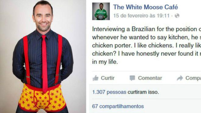 Após fazer piada com brasileiro, Paul Stenson foi acusado de xenofobia e alvo de campanha online