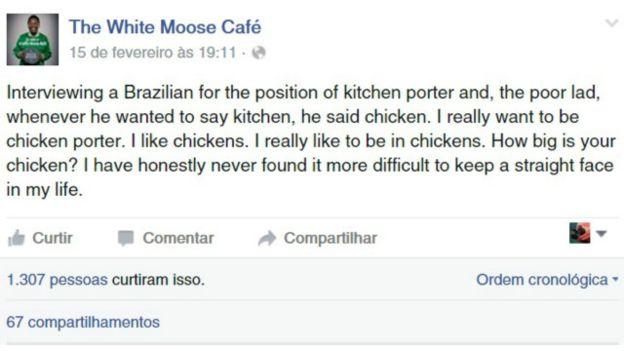 The White Moose Cafe (Reprodução)