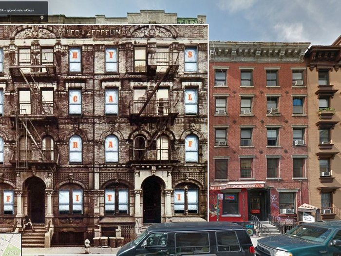 physical graffiti led