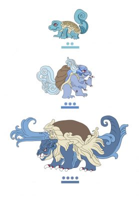 pokemayans-squirtles-chain